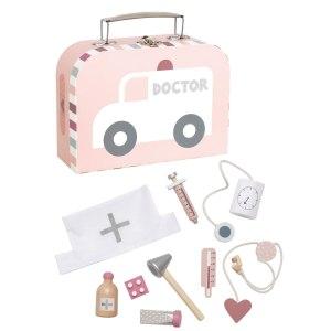 Jabadabado Doktorkoffert - rosa