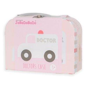 Jabadabado Doktorkoffert - rosa innpakning
