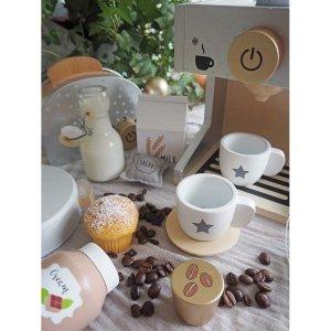JaBaDaBaDo Kaffemaskin servert