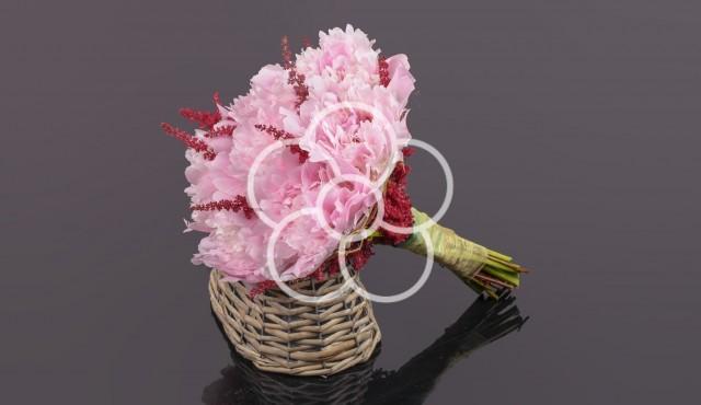 Buchete de mireasa roz