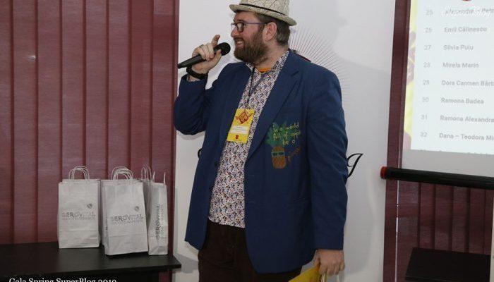 Gala Spring Super-Blog 2019 Emil calinescu Finalist
