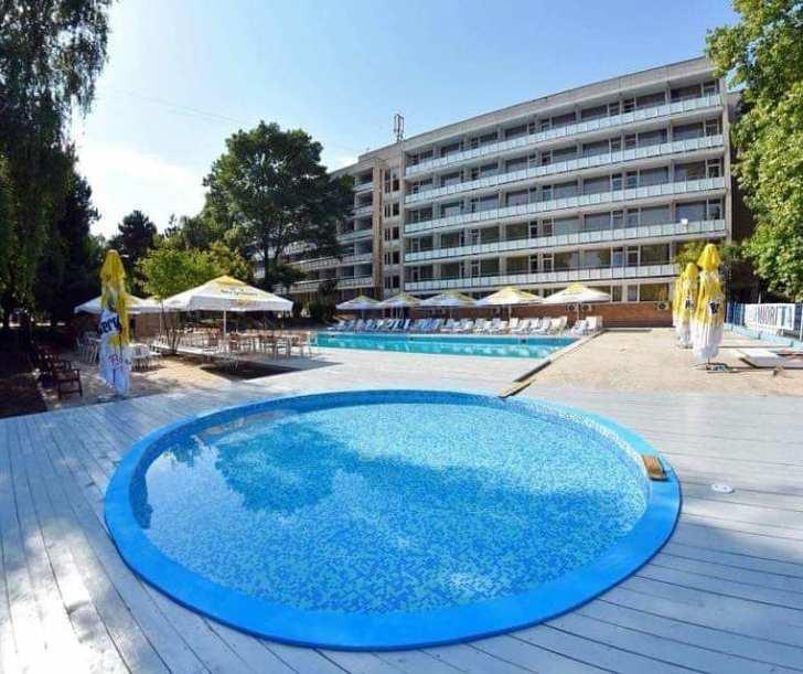 Litoralul Romanesc Hotel Miorita piscina