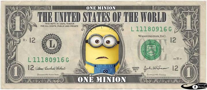 One minion Dollar
