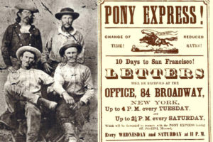 Mail - pony express