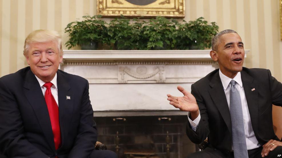 """Barack Obama : """"Il sera important que le monde laisse une chance"""" à Trump"""
