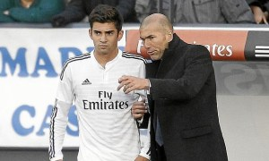 """Premier match et premier but pour Enzo Zidane : """"Marquer est un rêve"""""""