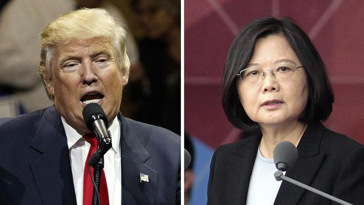 Donald Trump frôle l'incident diplomatique avec la Chine