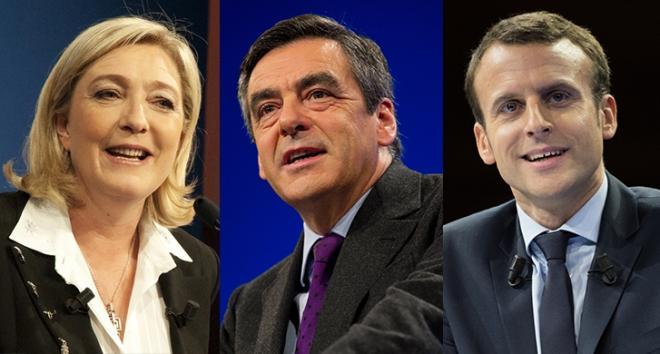 Картинки по запросу La France presidentielle 2017 les candidats favorits