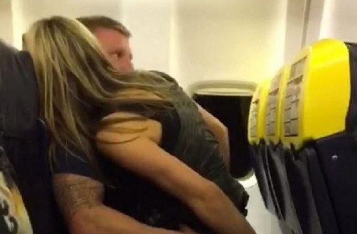 Ryan air couple
