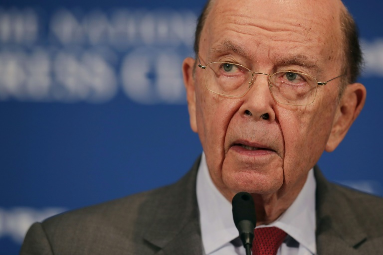 Wilbur Ross le 14 mai 2018 à Washington