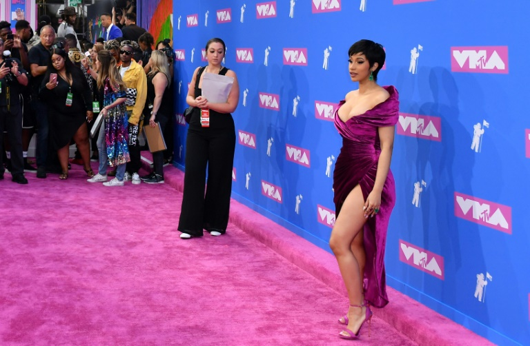 Cardi B aux MTV Video Music Awards à New York me 20 août 2018