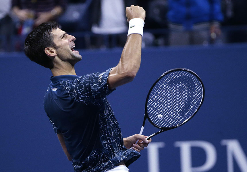 Novak Djokovic remporte l'US Open 2018