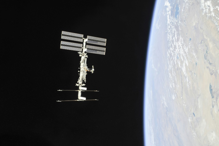 La Station spatiale internationale (ISS), le 4 novembre 2018