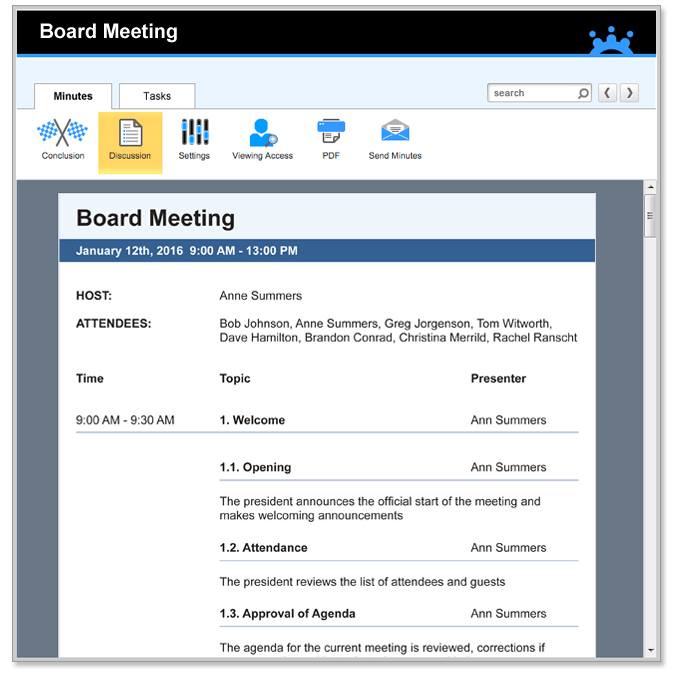 Are attendees prepared and accountable? Minutes Of Meeting Template