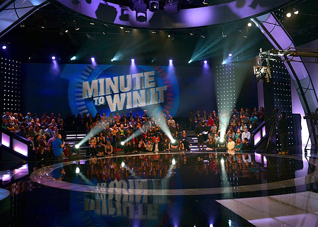 Minute to Win It Television Game Show