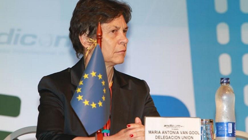 María Antonia Van Gool, delegada de la UE para Colombia y Perú.