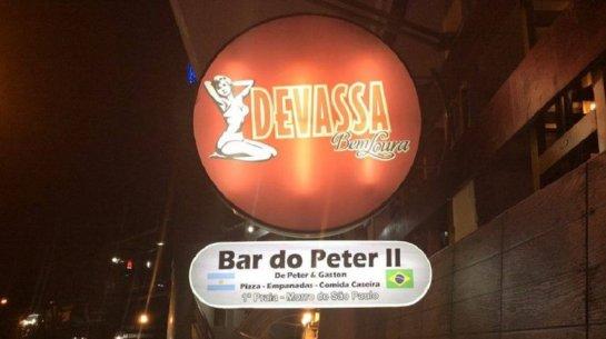El Bar do Peter II donde trabajaba el argentino asesinado en Morro de São Paulo