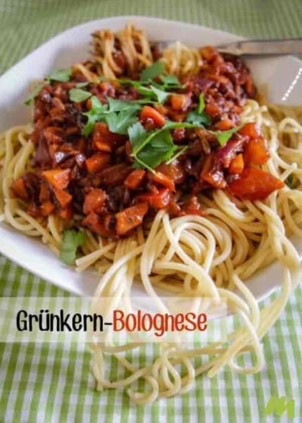 grünkern bolognese