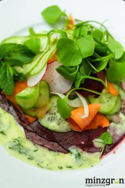 Gemüse Carpaccio