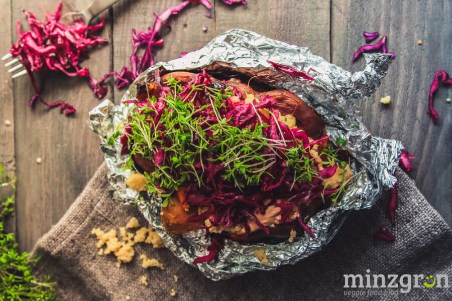 Kumpir - Pimp your Ofen(süß)kartoffel