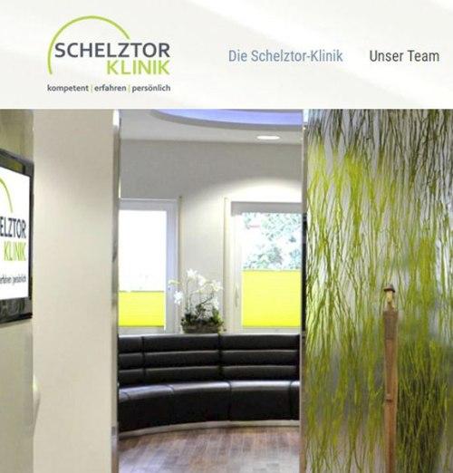 Website Schelztor-Klinik Esslingen GmbH