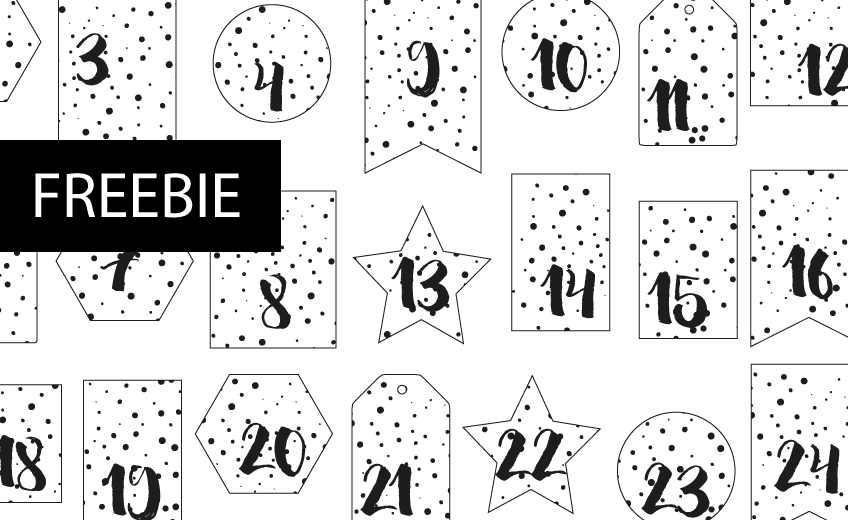 Adventskalender Zahlen Pdf Miomodo Diy Blog
