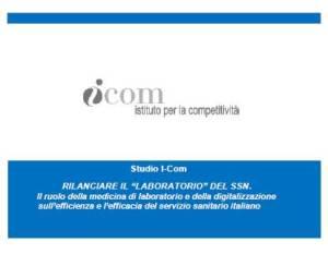 Cover Studio I-Com su medicina di laboratorio