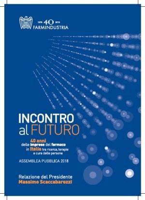 Cover Relazione Presidente Scaccabarozzi 2018