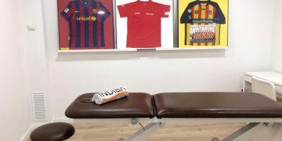 Camilla sala de Fisioterapia Miostaf