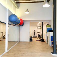 Sala de ejercicios y pilates