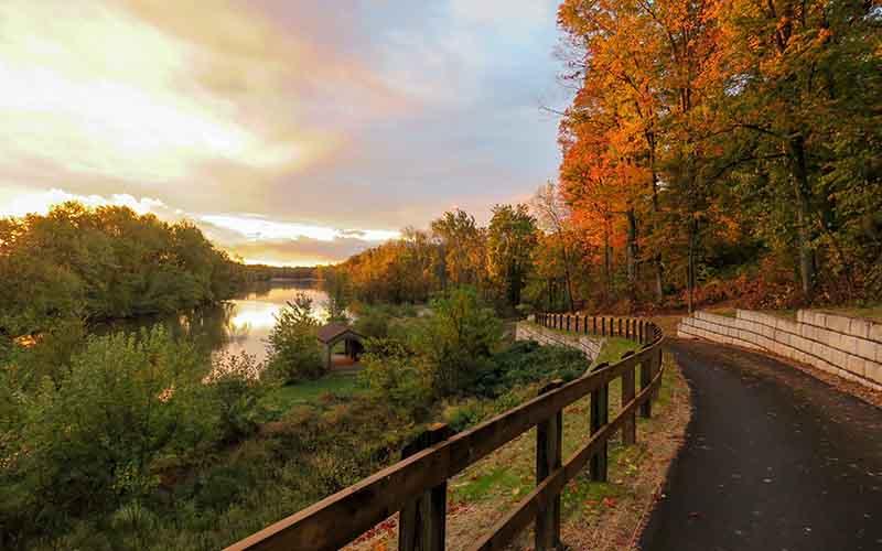 Grand Ravines Ottawa County Michigan