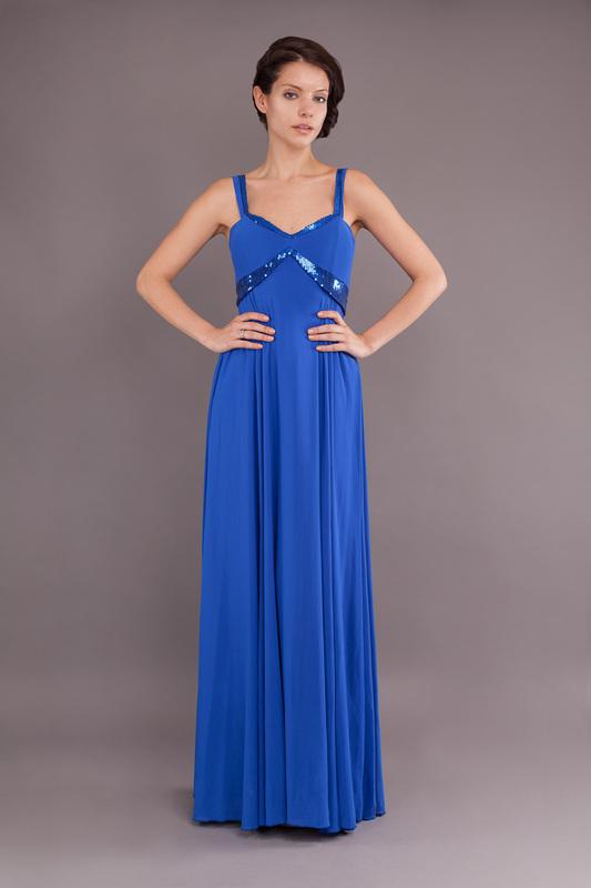 Vestidos damas de honor azul rey