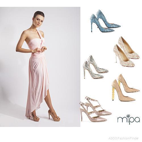 Que Zapatos Usar Con Un Vestido De Noche Mipa Fashion