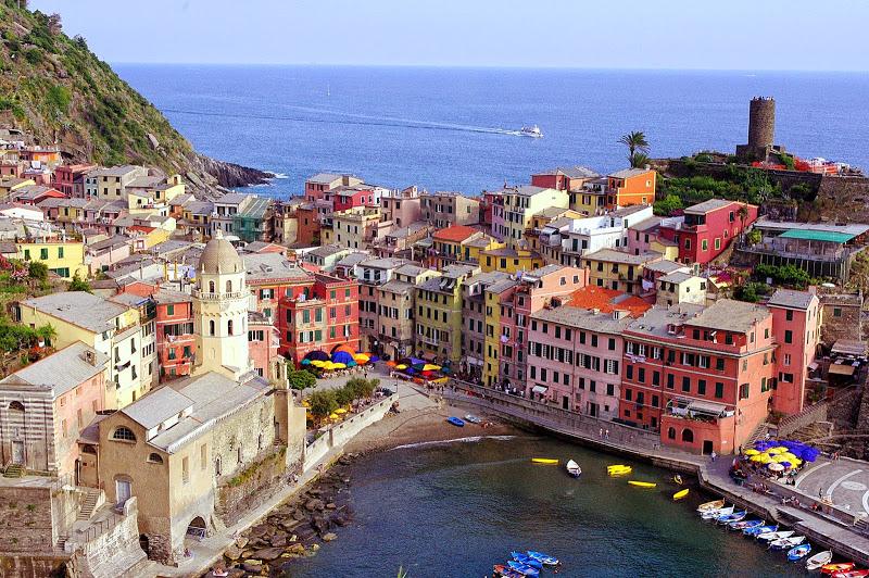 Cinque Terre: Cinco pueblos frente al mar
