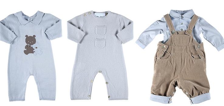 La ropa del recién nacido