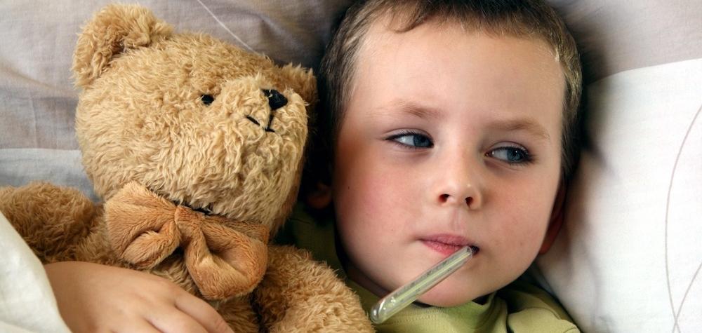 Los seis síntomas del niño enfermo