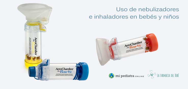 Inhaladores para niños y bebés