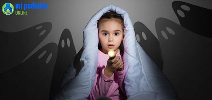 Miedos infantiles ¿Cómo actuar ante ellos?