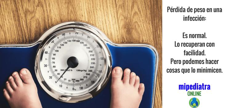 Pérdida de Peso por una Infección