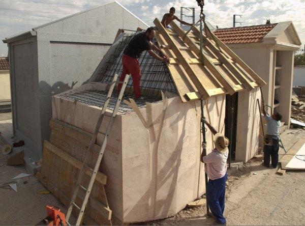 Calamites Manchego en construcción