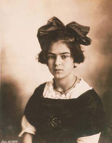 Frida Kahlo de niña