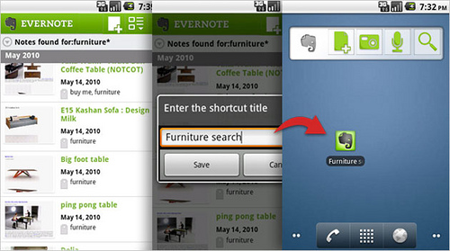 Evernote 2.0 para Android