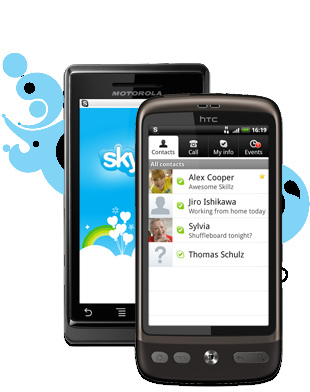 skype 4 android