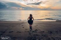 portait professional wedding photographer seaside