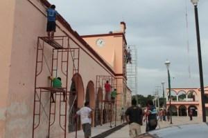 reparacion de palacio municipal ticul 11 sept 2015