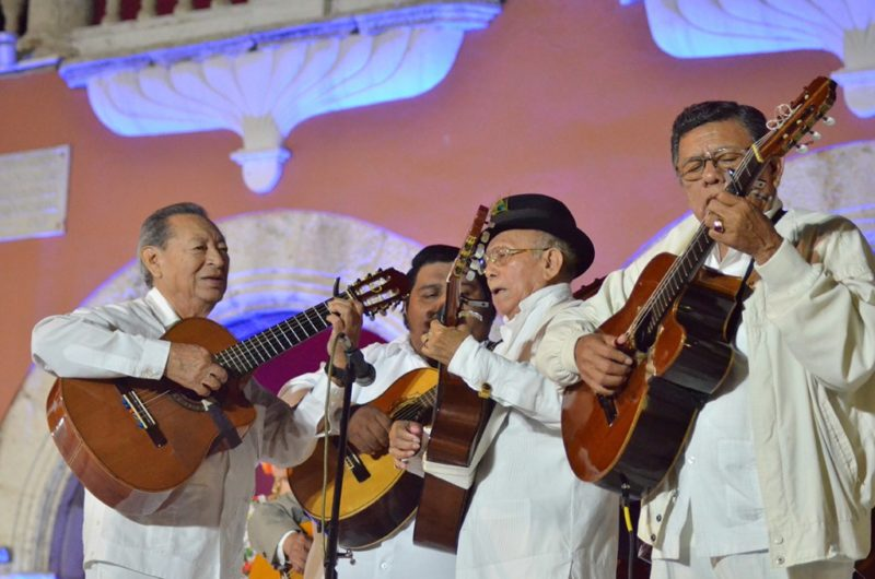 Trovadores yucatecos, listos para cantarle a Mérida