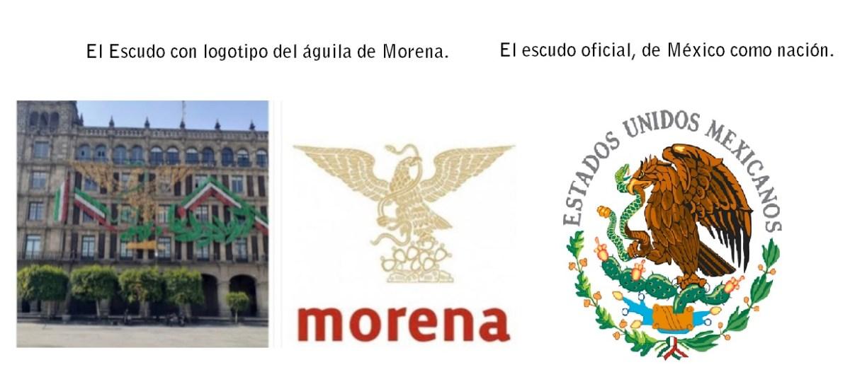Violan La Ley Cambian Escudo Nacional Le Ponen El Aguila De Morena Mpv Opinion Ciudadanos Pri Pan Prd