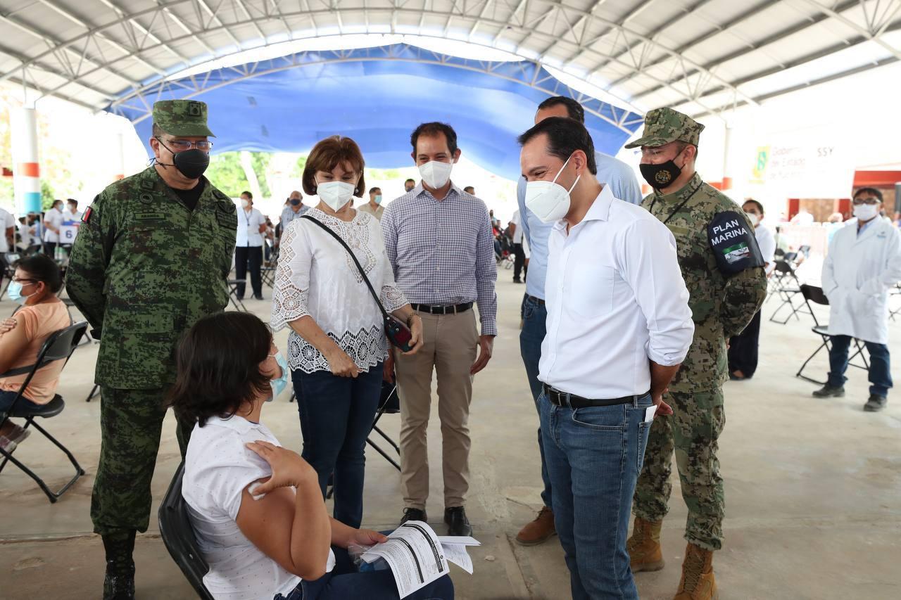 Yucatán rompe récord en la aplicación de vacunas contra el Coronavirus en  un solo día | MPV: opinión, ciudadanos, PRI, PAN, PRD