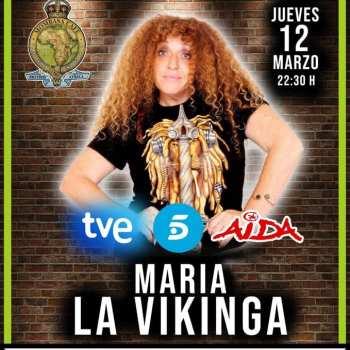 """María """"La Vikinga"""" en Mombasa"""