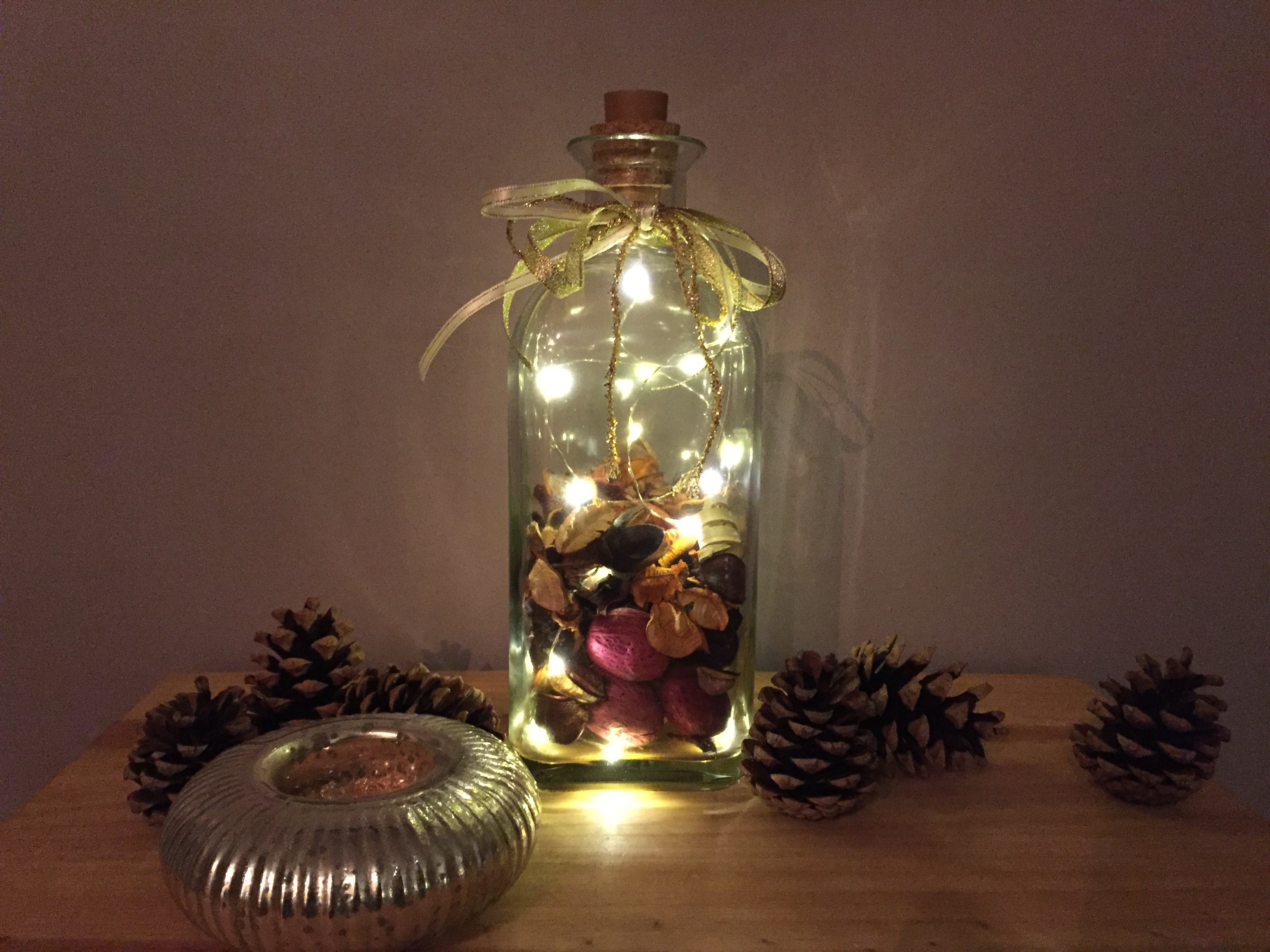 Fairy Lights Bottle